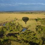 полет на воздушном шаре в Масай Маре