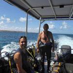 Tauchausflug in Coral Bay (Florian und Edi)
