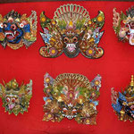Bali Holzschnitzerei