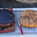 Longreach Watherhole Kuchen und Brot vom Campoven
