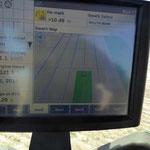 Auf der Feldspritze - GPS Steuerung