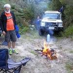 Freecamping mit Australier