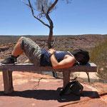 Kalbarri Nationalpark - Müde und Fliegenalarm