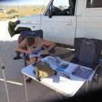 Cape Range Nationalpark - lernen fürs Tauchpreuvez