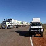 Treibstoff Roadtrain