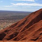 Uluru Nationalpark - Sicht von Oben