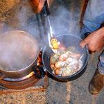 Yabbie kochen