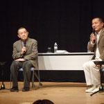 細谷先生と伊勢監督のトーク