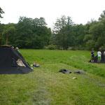 Die Juffi-Zelte