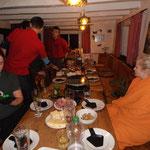 Raclette am letzten Abend
