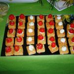 Pikante Käsesables mit würziger Peperoni