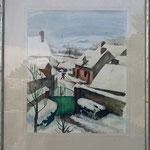 """GP149 """"paysage de neige"""""""