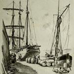 """G23 """"déchargement de bateaux"""""""