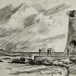 """D14 """"tempête bout du port st Tropez"""""""