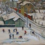 """GP135 """"enfants dans la neige"""""""