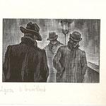 "GV27 ""Lyon, le brouillard"" 10 x 6,5 cm"
