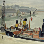 """P6 """"bateau vapeur à St Nazaire"""""""