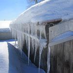 im Februar richtig frostig
