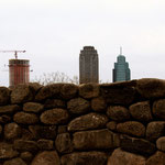 Jersey City from the Irish Famine Memorial