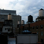 Water tanks, Riverside Drive