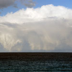 Huge clouds head for Syria and worst winter storms for 20 years