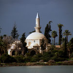 Hala Sultan Tekke mosque, outside Larnaka - fourth most important in Islam
