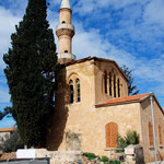 Dis-used mosque at Peristerona in old Turkish Cypriot quarter