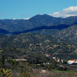 Southern Troodos above Khirokitia