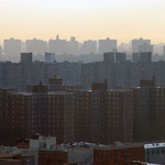 Looking north over Harlem