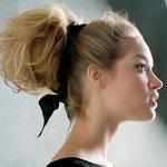 Причёска с БАБЕТТОЙ mini - причёска с постижем, светло-русый