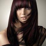 Причёска с НАКЛАДКОЙ combo - причёска с постижем, колорирование прямые волосы