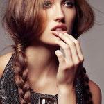 Причёска с КОСИЧКАМИ light на заколках - причёска с постижем, русый
