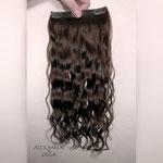 Шиньоны - ленты, волосы на заколках, накладные волосы, волнистые волосы