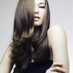 Причёска с ШИНЬОНОМ-лентой на заколках - причёска с постижем, тёмно-русый