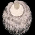 Теменная НАКЛАДКА combo mini - на заколках - постиж, жемчужно-пепельный блонд, волнистые волосы