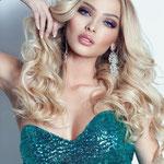 Причёска с ПРЯДЯМИ на заколках - причёска с постижем, светлый блонд