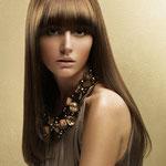 Причёска с НАКЛАДКОЙ combo - причёска с постижем, русые прямые волосы