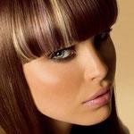 Причёска с ЧЁЛКОЙ на заколках - причёска с постижем, мелирование