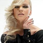 Причёска с ЛОКОНОМ - имитацией - причёска с постижем, светлый блонд