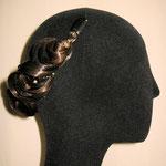 Украшение - ПОЛУМЕСЯЦ - постиж (из натуральных волос), русый, фото 4