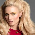 Причёска с ШИНЬОНОМ на заколках - причёска с постижем, блонд