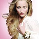 Причёска с ШИНЬОНОМ-лентой на заколках - причёска с постижем, светло-русый