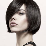 Причёска с Теменной НАКЛАДКОЙ восьмёрка mini - причёска с постижем, прямые волосы
