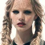 Причёска с КОСИЧКАМИ light, светло-русые волосы