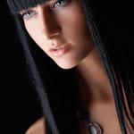 Причёска с НАКЛАДКОЙ combo - причёска с постижем, чёрные прямые волосы