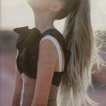 Причёска с БАБЕТТОЙ classik - причёска с постижем, светло-русый пепельный