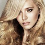 Причёска с ПРЯДЯМИ на заколках - причёска с постижем, пшеничный блонд