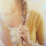 Причёска с КОСОЙ-имитацией - причёска с постижем, мелирование, натуральные оттенки