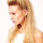 Причёска с ШИНЬОНОМ на заколках - причёска с постижем, золотистый блонд