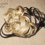 ВАЛИК - РАКУШКА - постиж, мелирование (из натуральных волос)